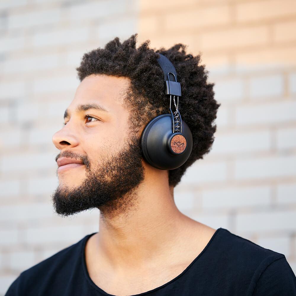 Audífonos Bluetooth Positive Vibration 2 BT negro TWS de The House of Marley