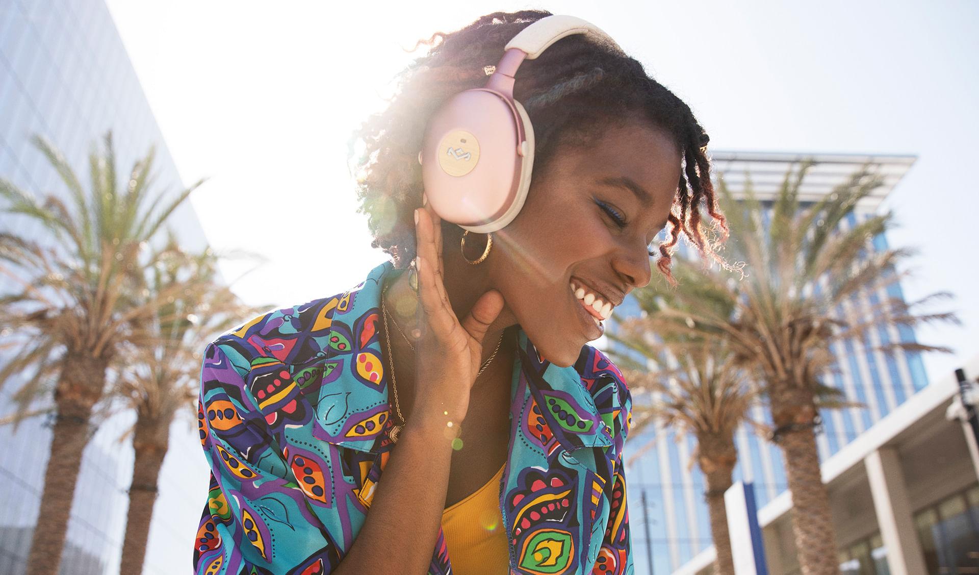 Audífonos Positive Vibration XL ANC Copper de The House of Marley