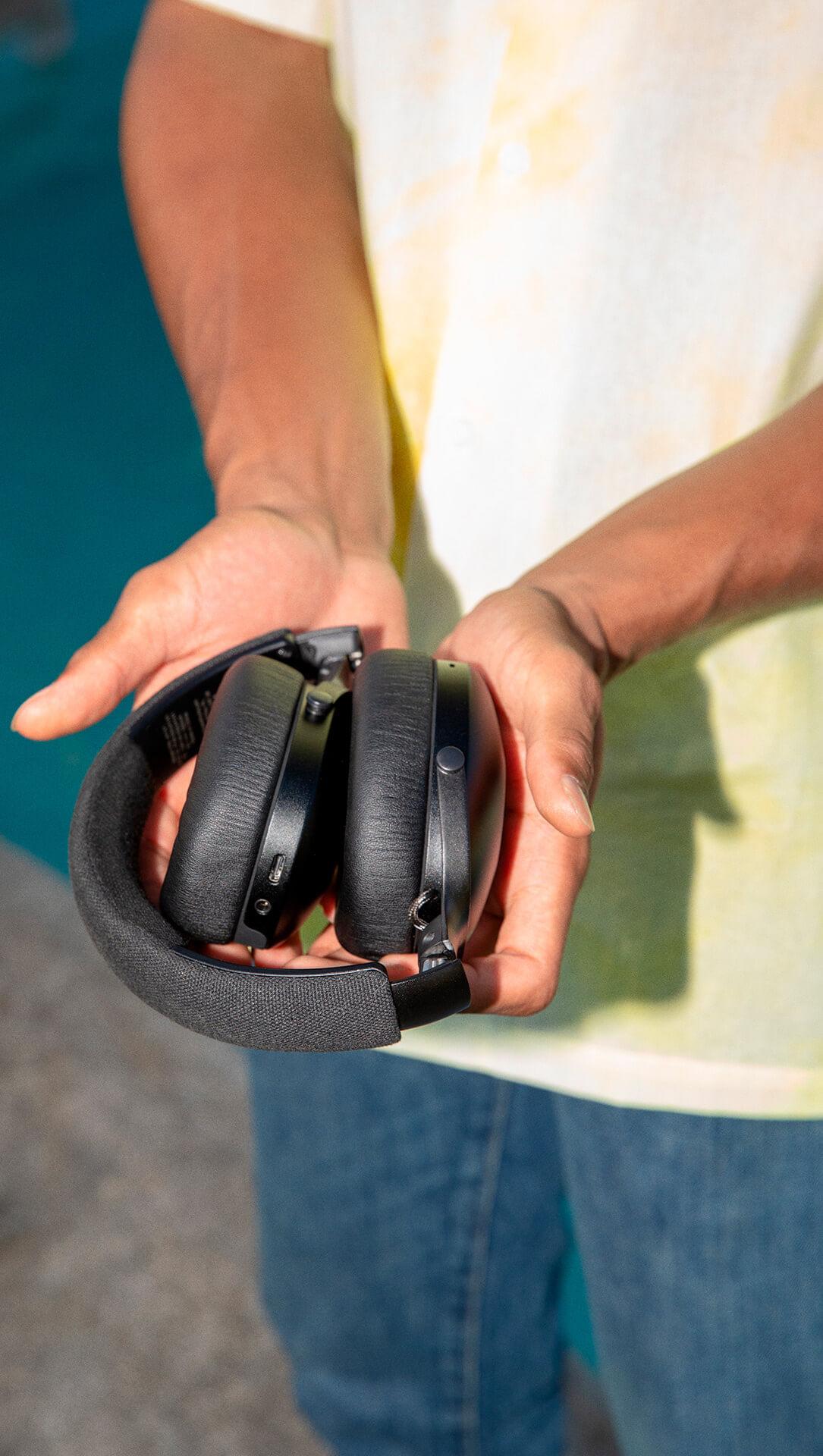 Audífonos Positive Vibration XL Negros de The House of Marley