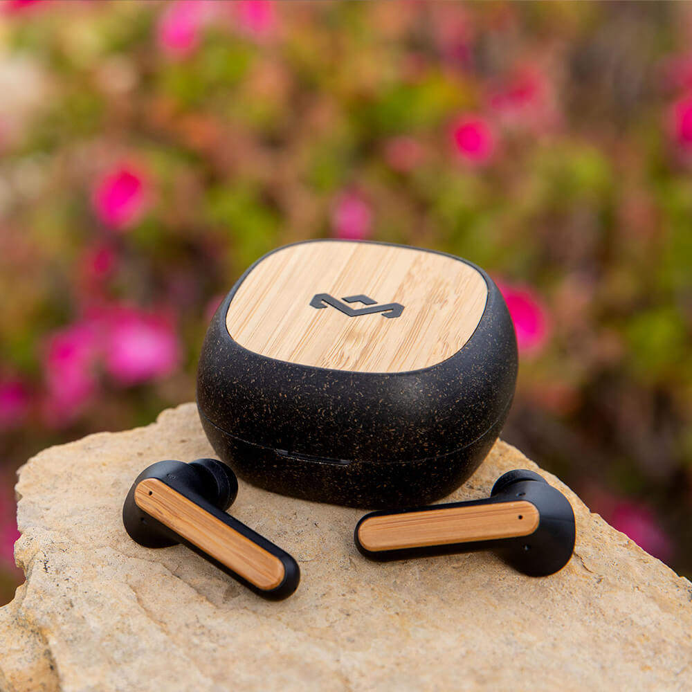 Audífonos Bluetooth Redemption ANC TWS de The House of Marley