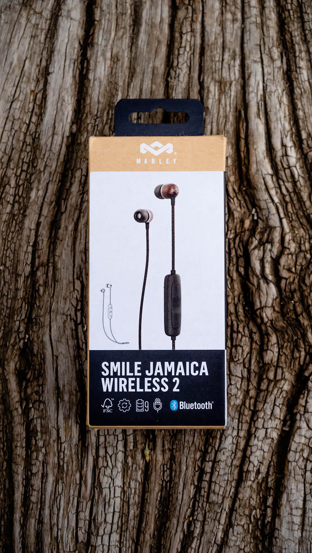 Audífonos Smile Jamaica BT 2 Black negro de The House of Marley