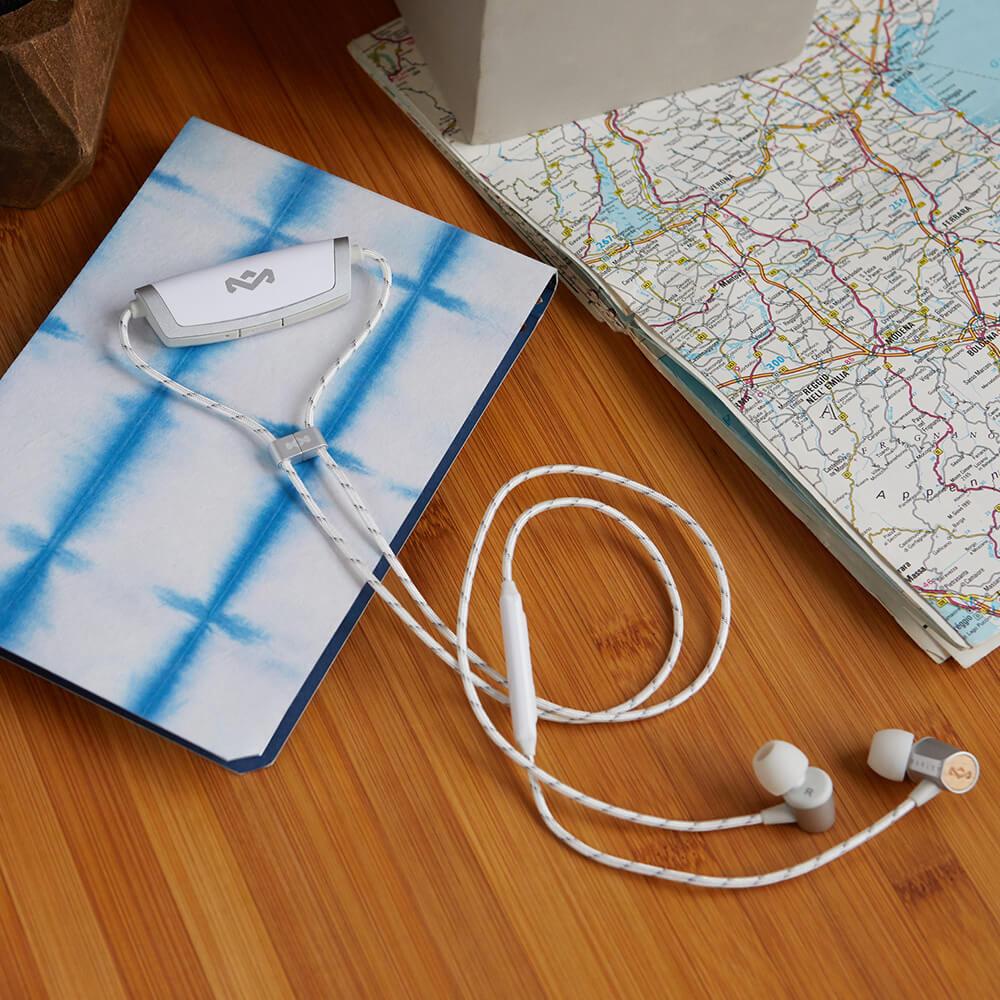 Audífonos Bluetooth UpLift BT 2 silver de The House of Marley