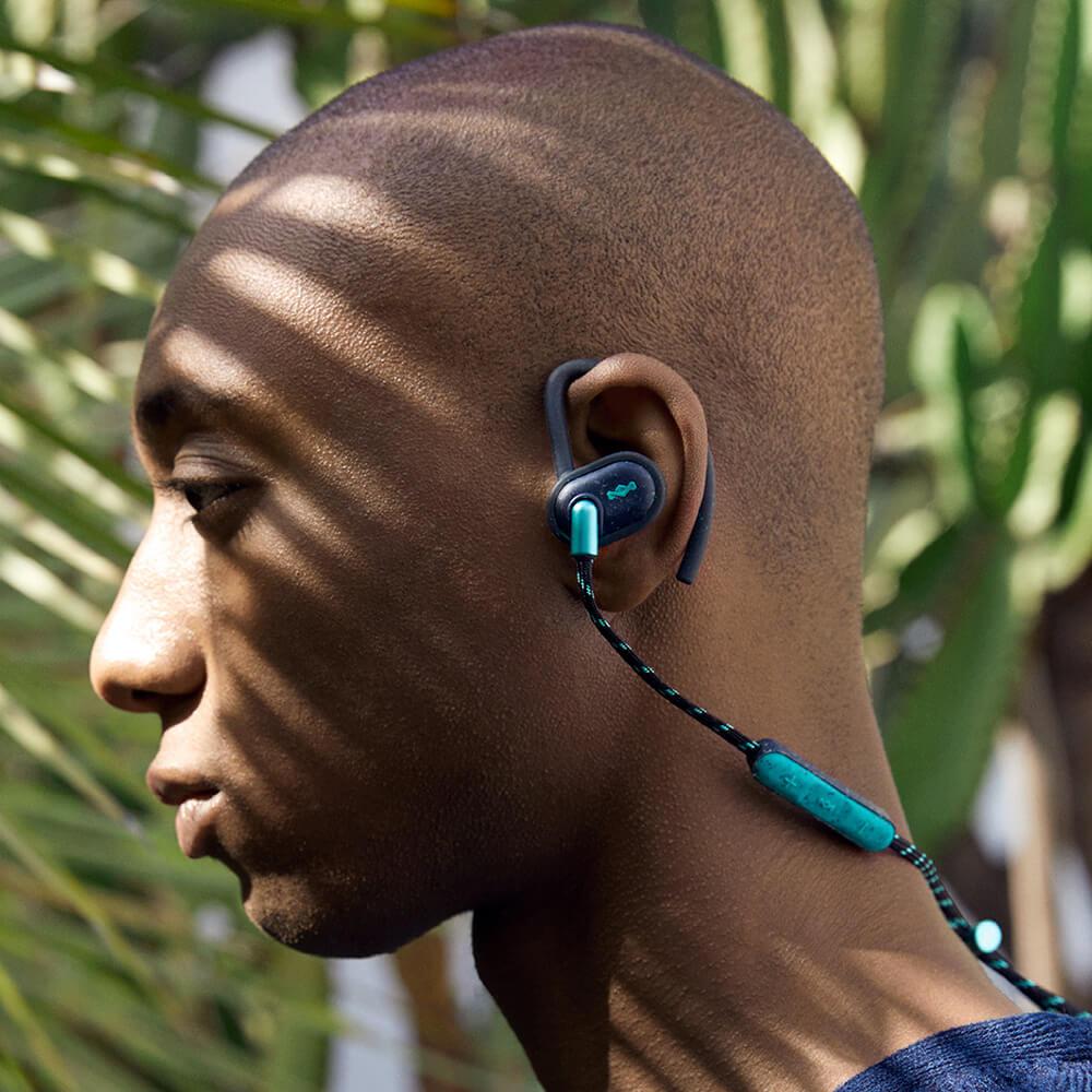 Audífonos Bluetooth UpRise BT teal de The House of Marley